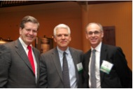Jim Mulshine, MD, Tim Byers, MD, MPH & Richard Wender, MD at the 2013 Dialogue for Action on Cancer Screening.